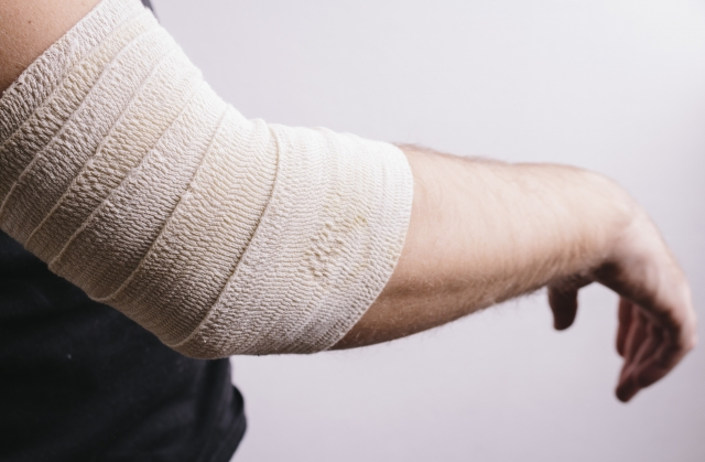 Cases of major sports injuries