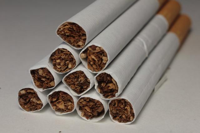 数本のタバコ